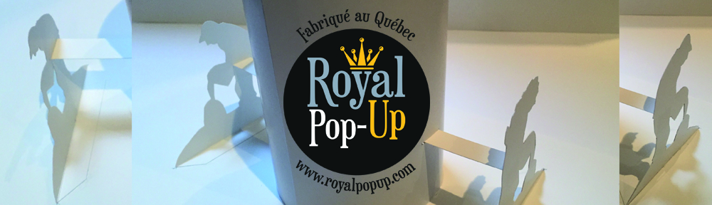 "Cartes ""Royal Pop-Up"""